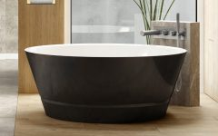 Taizu Freestanding Bath Black