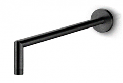 Slimline Wall Mounted Spout (Black)