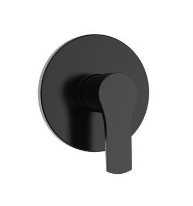 Erebus Black Shower/Bath Mixer