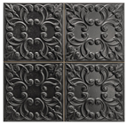 Tin Tile Black