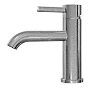 Aqualine Round Basin Mixer